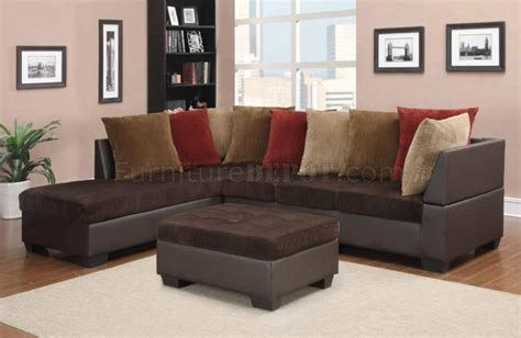 chocolate corduroy sectional sofa chocolate sectional sofa jackson everest customizable