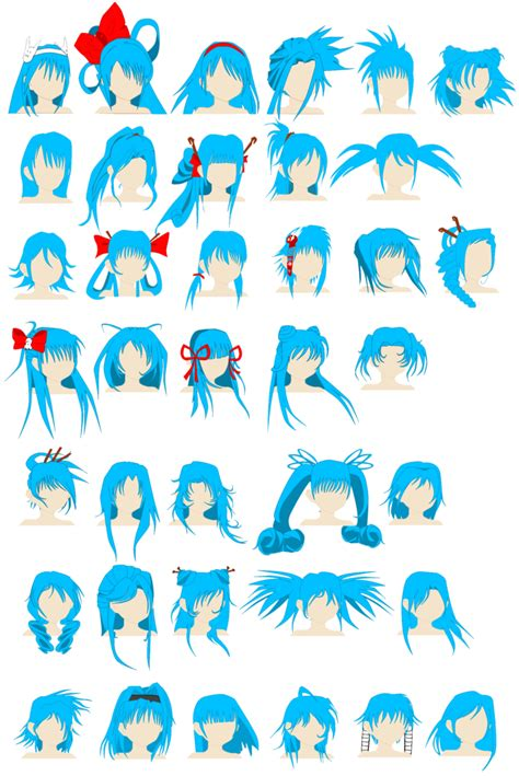 Cute Anime Hairstyles ~ trends hairstyle