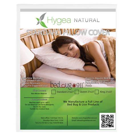bed bug pillow encasements bed bug 911 waterproof dust mite lice and allergen proof