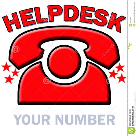 cybersource help desk phone number telephone helpdesk royalty free stock photos image