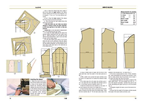 pattern making book for menswear publications pattern making for perfect fit style