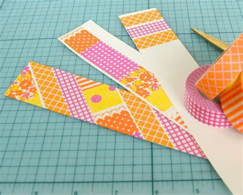 Plain Bookmarks To Decorate by Omiyage Blogs Back To Basics Washi Bookmark