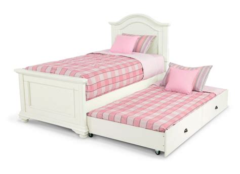 brook youth twin bed with trundle kids beds headboards