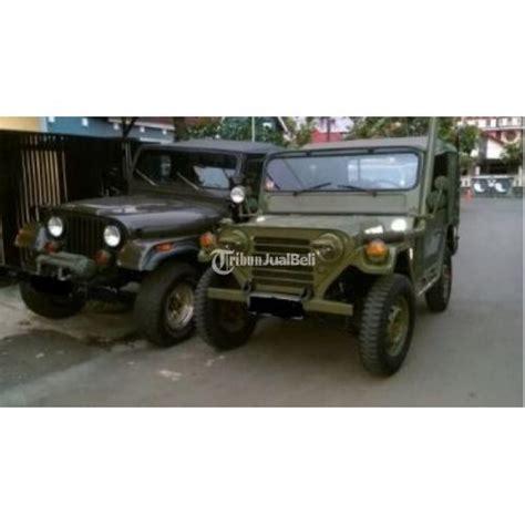mobil jeep utility a1 bekas tahun 1969 warna hijau army surat lengkap bandung dijual