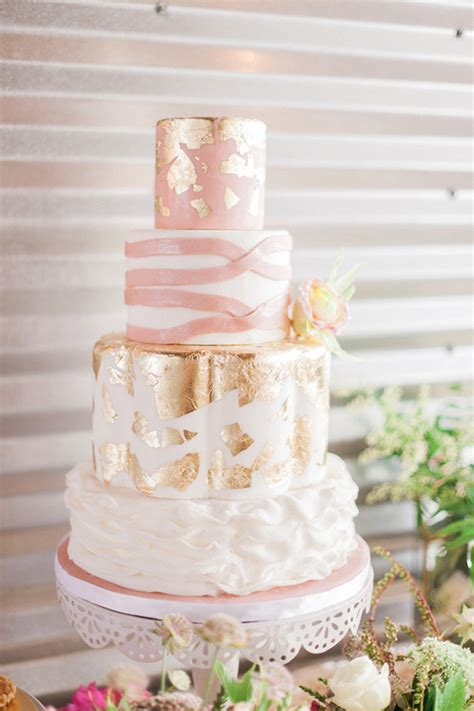 Pink Wedding Cakes by 50 Of The Prettiest Pink Wedding Cakes Onefabday Uk