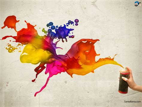 spray paint abstract colour wallpapers 82