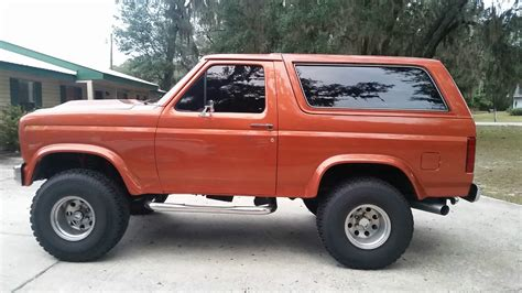 bronco car lifted 1984 custom ford bronco 4x4 302 auto a c lifted bfg