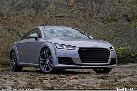 Audi Tt Road Test by Road Test 2016 Audi Tt Audiworld