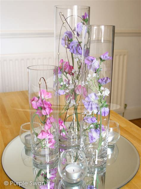 Flowers In Cylinder Vases vase hire hurricane vase hire wedding table centrepiece design cumbria lake district