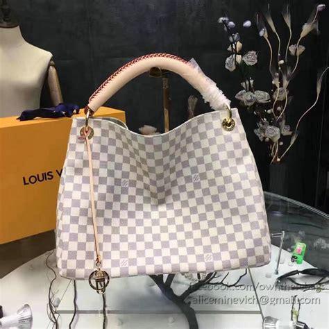 Tas Louis Vuitton Seri 3020 louis vuitton damier azur canvas artsy mm n41174