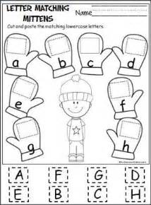 letter match puzzle cut and paste puzzle matching