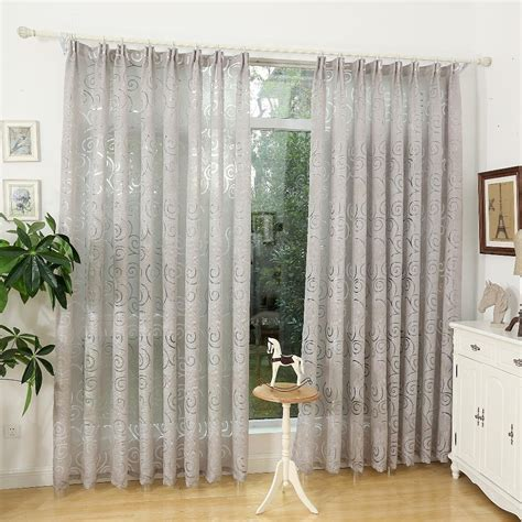 fashion design modern curtain fabric living room curtain