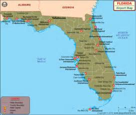 florida map with cities and airports airports in florida florida airports map