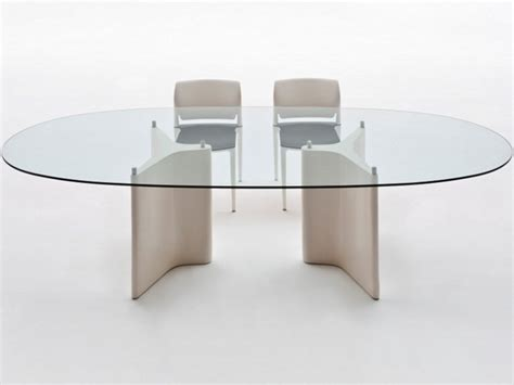 tavolo ovale in vetro tavolo ovale in vetro segis