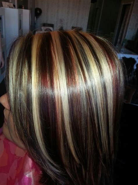 cute highlights for blondes red blonde brown highlights lowlights new look