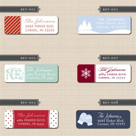return address labels new calendar template site