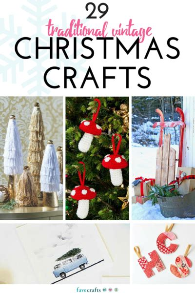 29 vintage christmas crafts favecrafts com