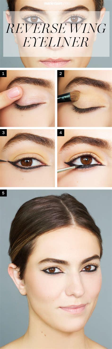 tutorial makeup agar terlihat natural reverse wing eyeliner teknik baru agar mata anda indah alami