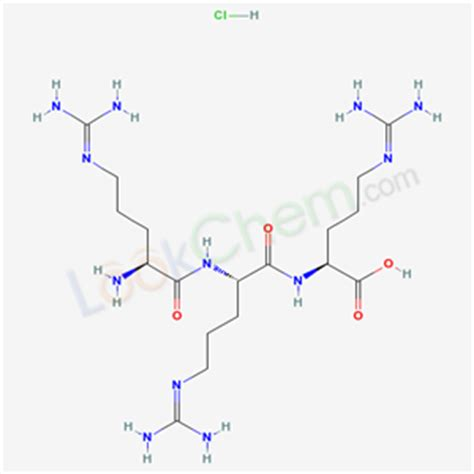 CAS No.26982-20-7,L-Arginine, homopolymer, hydrochloride ... L Arginine Structure