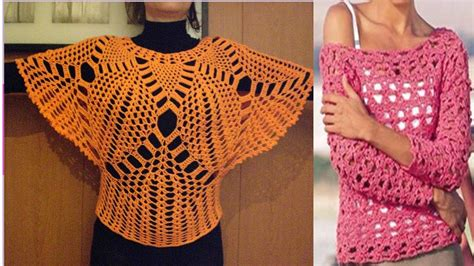aprende a tejer blusas a crochet paso a paso learn knit easy crochet tejidos a crochet verano 2017 newhairstylesformen2014 com