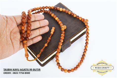 Gelang Tasbih Gaharu Riza Craft Magelang Jawa Tengah tasbih kayu agathis merah 99 butir 171 jual gelang tasbih