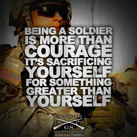 Army Quotes Courage Quotes Quotesgram