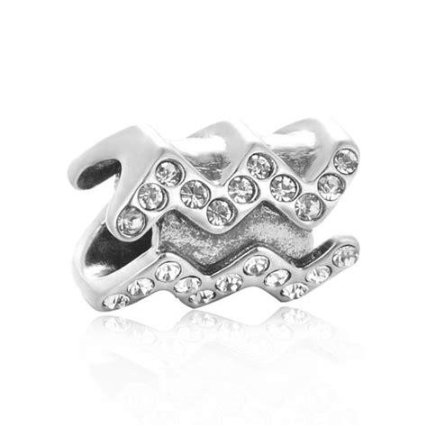 Pandora Zodiac Charms Aquarius Sterling Silver P 894 sterling silver aquarius charm charms for bracelet