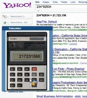 calculator yahoo yahoo s new search clothes but will it help probably not