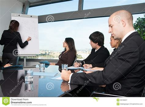 talking rooms business meeting in board room with skyline stock image image of city ethnic 36169227