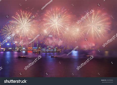 hong kong new year fireworks 2015 hong kong february 20 hong kong new year