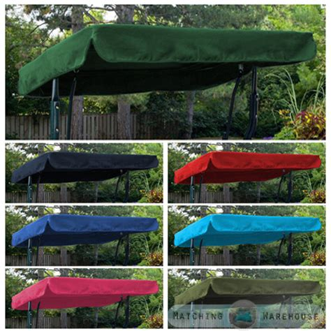 swing seat canopy cover replacement canopy for swing seat garden hammock 2 3