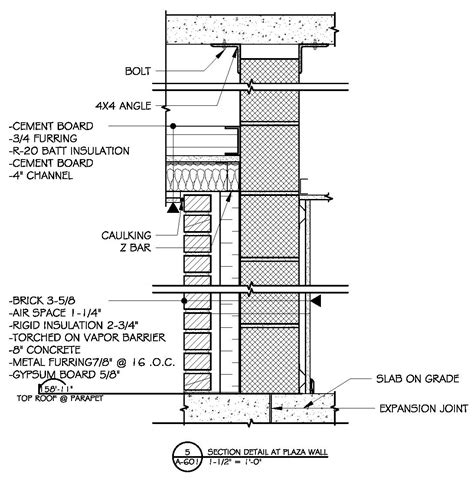 section of a building plan commercial building plans by raymond alberga at coroflot com
