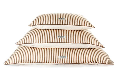 pillow ticking bedding rokabone natural ticking pillow bed by rokabone