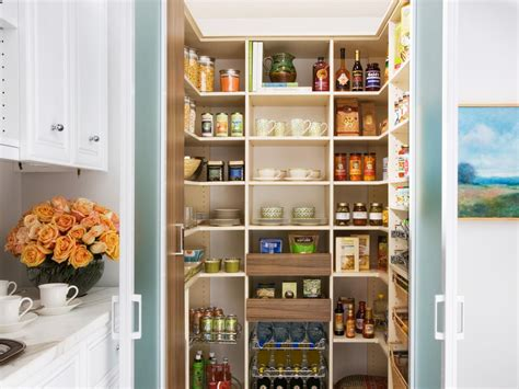 Pantry Ideas For Kitchen Pantry Cabinet Plans Pictures Ideas Tips From Hgtv Hgtv