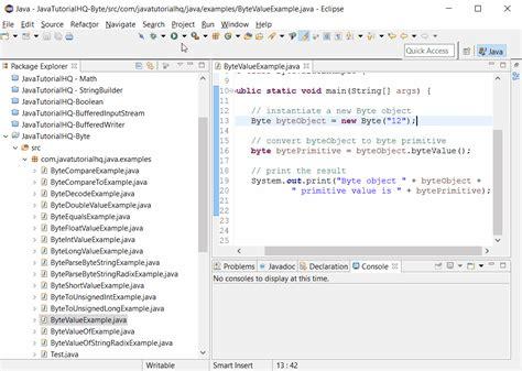 java pattern value java byte bytevalue method exle