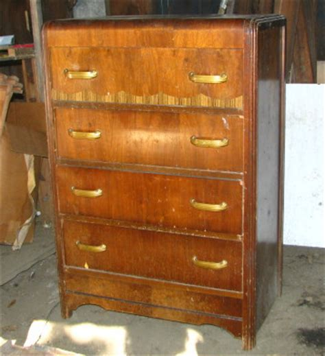 Waterfall Dresser Value by Waterfall Dresser Antique Price Guide Details Page