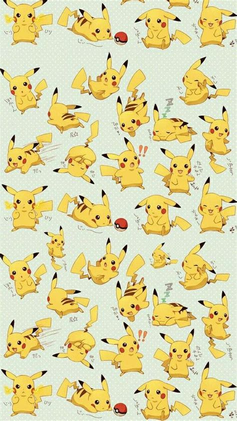 pokemon pattern iphone wallpaper anime pokemon pikachu wallpaper wallpaper phone