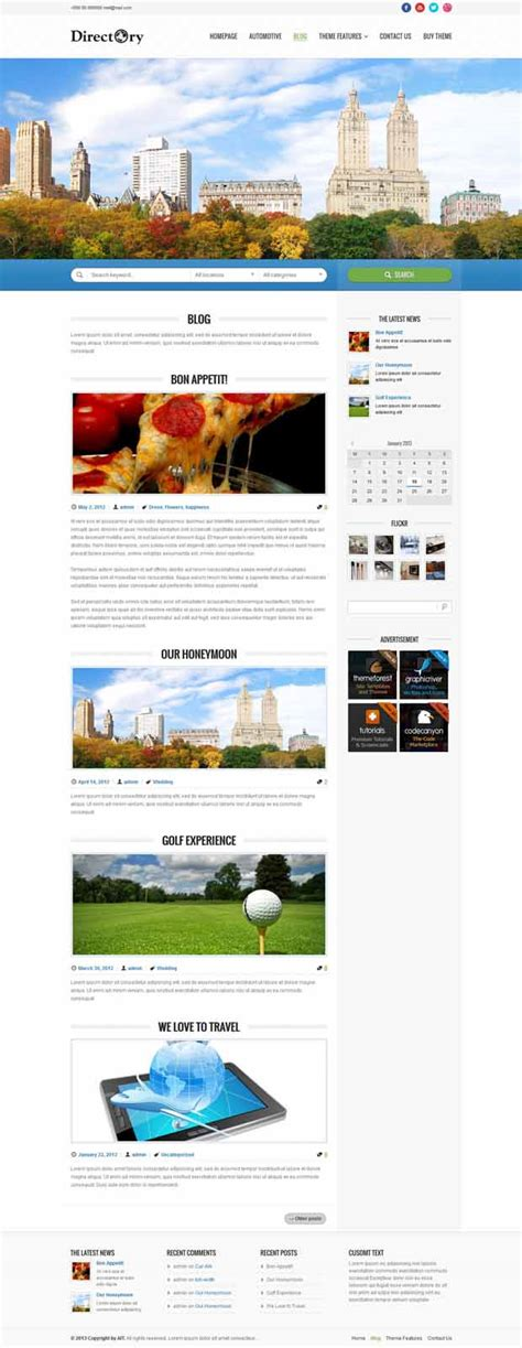 wp photo themes responsive 5 responsive directory listing wp themes