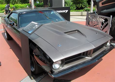 Plymouth Barracuda Fast Furious letty 1970 plymouth barracuda cuda black fast and furious