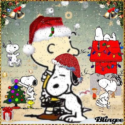 peanuts animated christmas images a brown gif find on giphy