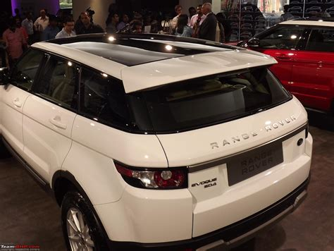range rover sunroof range rover evoque launched in india team bhp