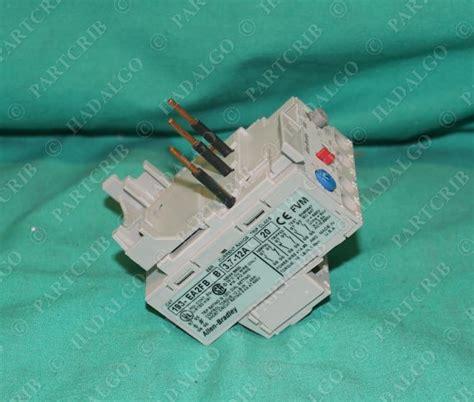 fb overload allen bradley 193 ea2fb overload relay 3 7 12a manual