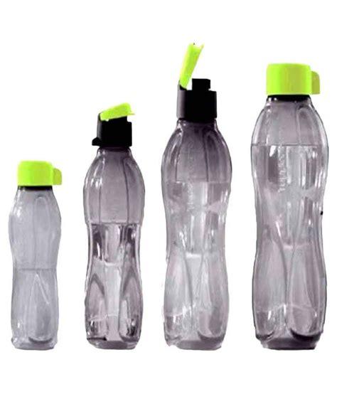 Tupperware Botol 700 Ml tupperware black bottles black 1000 ml 750 ml 500ml 310 ml fridge bottle set of 4 buy