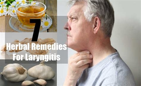 laryngitis can benefit from home remedies that support