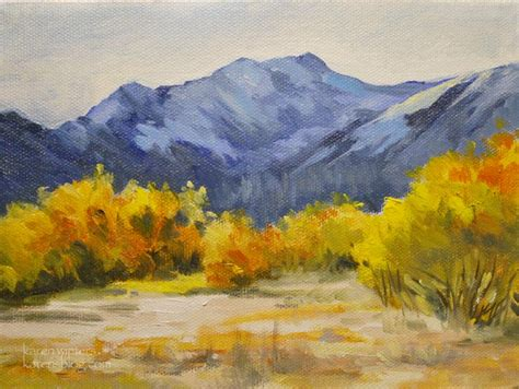 mammoth snowcreek landscape painting california