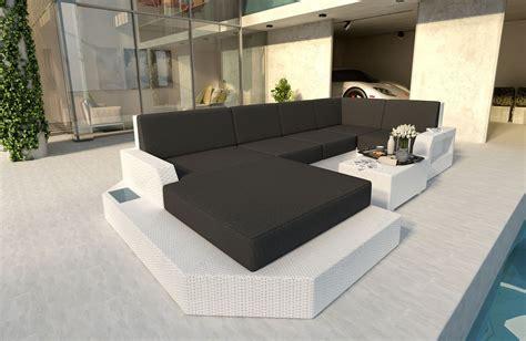 divani rattan divano per il giardino mesia xl in rattan nativo mobili in