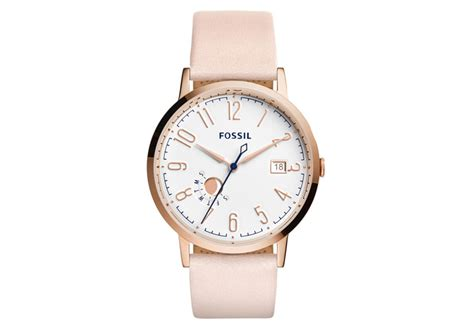 Fossil Muse Pink Es3991 Leather Jam Fossil Original fossil watchstrap es3991 best offer