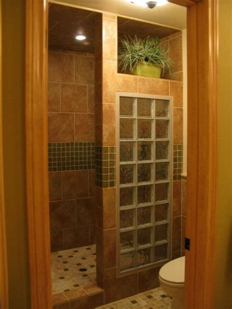 glass block bathroom shower ideas 790 best images about bathroom shower ideas on pinterest