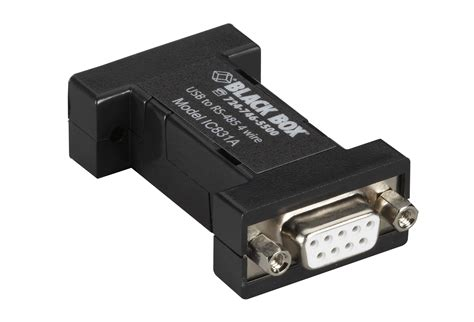 Usb 2 0 To Rs 485 Serial Converter usb 2 0 to rs485 4 wire converter db9 1 port black box