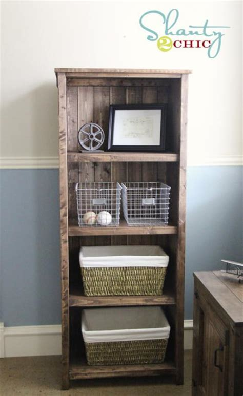 how to build a diy reclaimed wood bookshelf